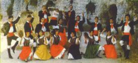 group of folksingers